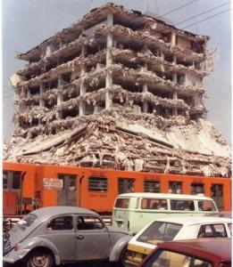 sismo mexico df 1985